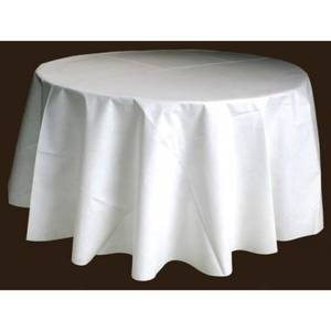 Nappes rondes blanches 290 cm