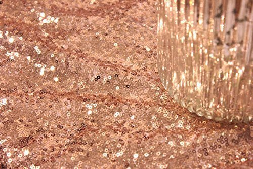 Nappe ronde  SEQUIN NUDE